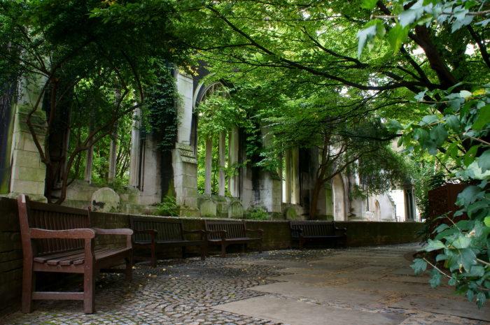 Церковь Святого Дунстана-на-Востоке. / Фото: www.londradavivere.com