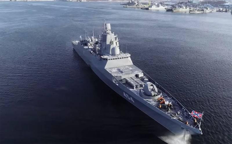 Фрегаты проекта 22350 - новый облик ВМФ России
