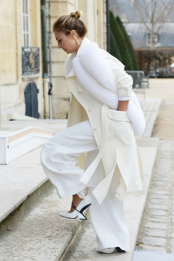 Как носить белое, когда холодно: 9 впечатляющих образов, фото № 2