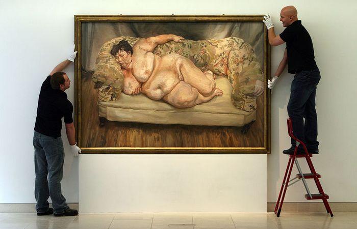 Как сложилась судьба «Большой Сью», которая позировала внуку Фрейда для скандальных картин, сделавших его миллионером