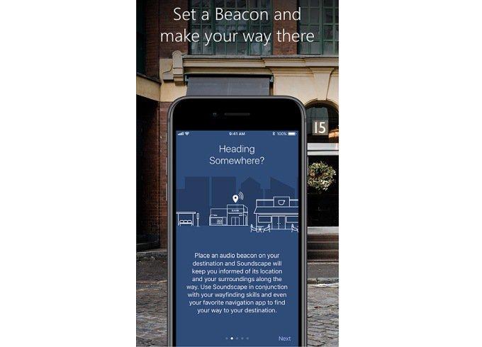 Создано приложение-навигатор для незрячих (2 фото + видео)