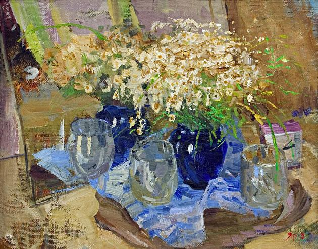 В вазе синего стекла...такие разные и одинаково чудесные натюрморты