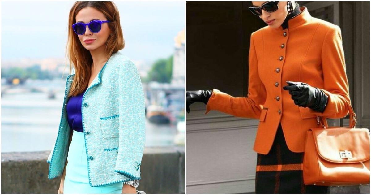 20+ стильных и элегантных образов с юбкой и жакетом
