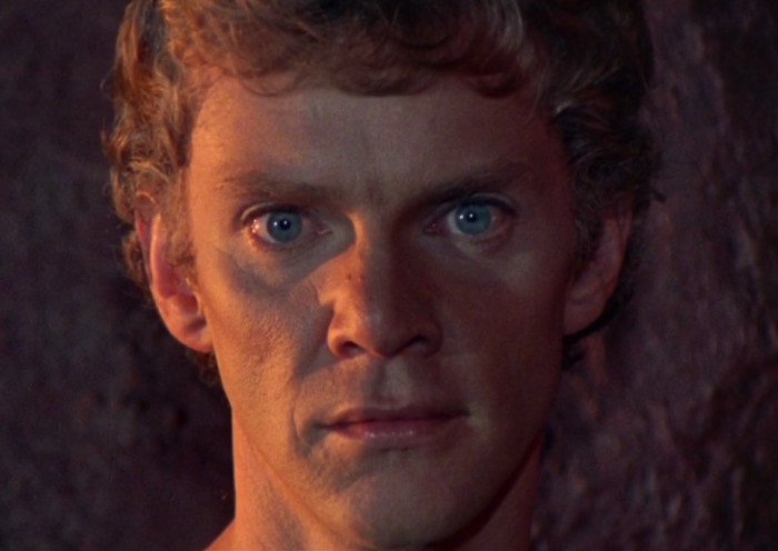Малкольм МакДауэлл в роли Калигулы, 1979 | Фото: ricketpick.fr