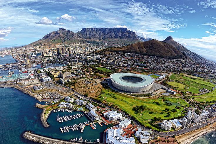 ТОП-10 наиболее посещаемых городов Африки