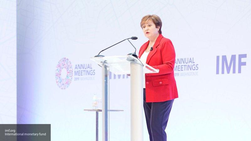 Глава МВФ приветствовала премьера Украины на русском языке