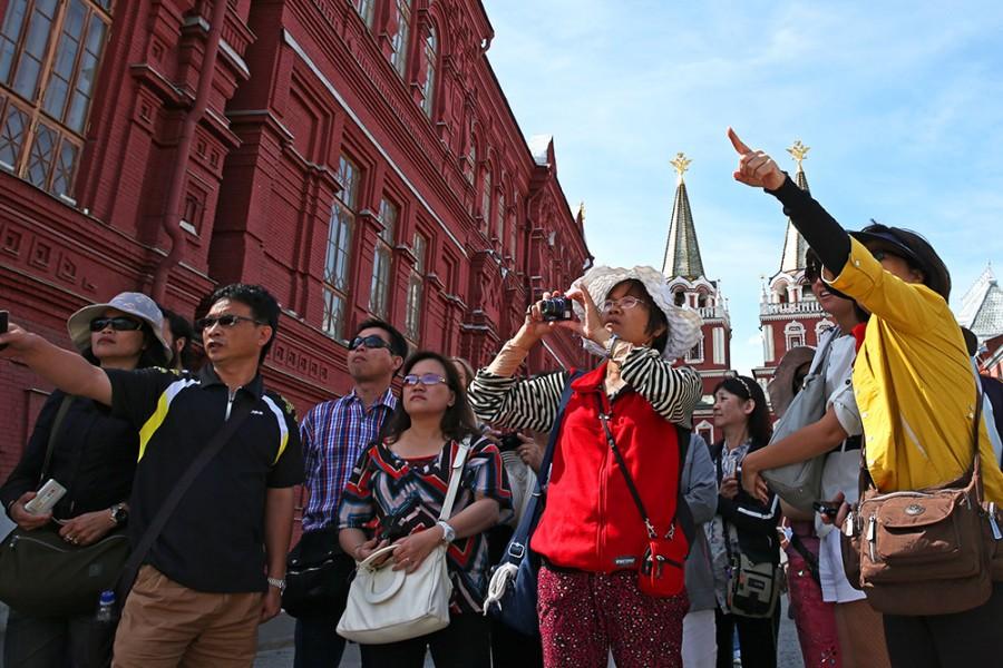 Увеличилось количество въезжающих в Россию туристов из США