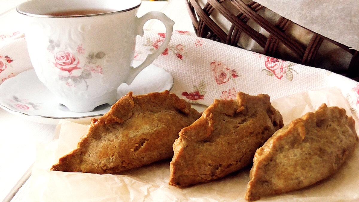 Чудесные ржаные пирожки с капустой и грибами выпечка,кулинария