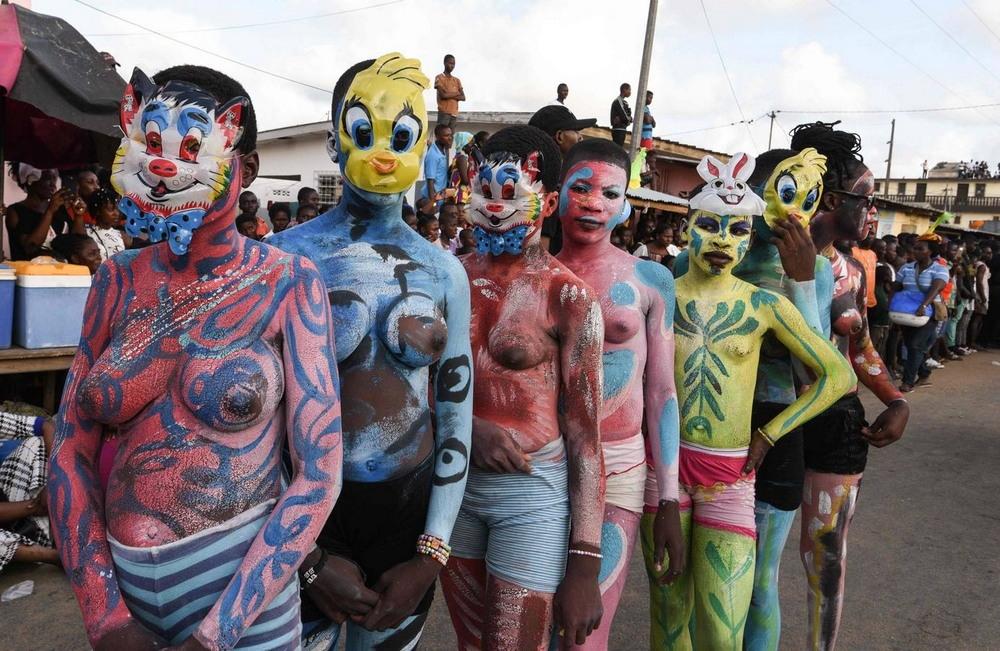 Карнавал Попо в Кот-д'Ивуар (45 фото)