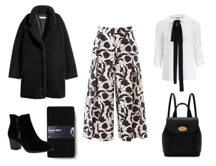 5 стильных способов носить кюлоты зимой и не замерзнуть