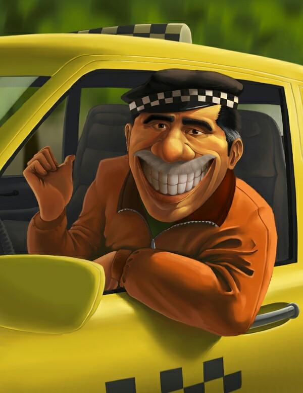 Веселый таксист картинки, картинка смешно