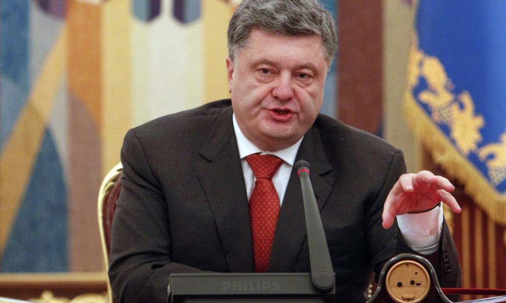 Порошенко решил выставить претензии Ельцину