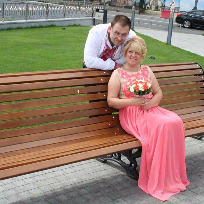 Будущий муж Татьяны Андрей нашел ее через соцсети.