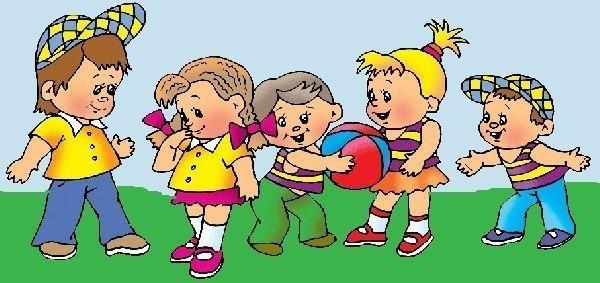 Подвижные игры для детей 1-3 лет