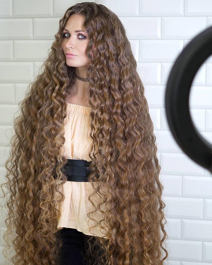 Сама красота и роскошь! 11 красоток, которые сражают наповал одними только своими волосами Женщины