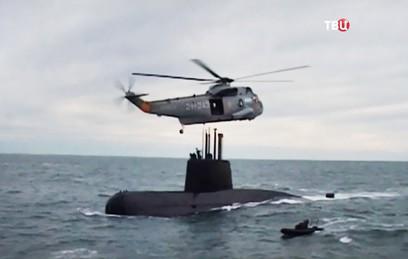 ВМС Аргентины получили данные о взрыве в зоне исчезновения подлодки