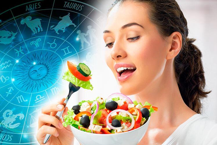Правильное питание по знакам зодиака