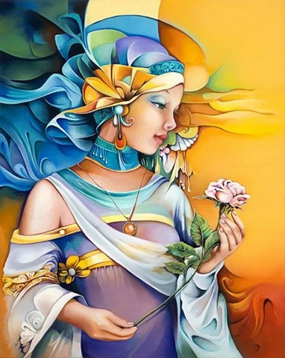 Эксклюзивная живопись от Oreses Bouzon.