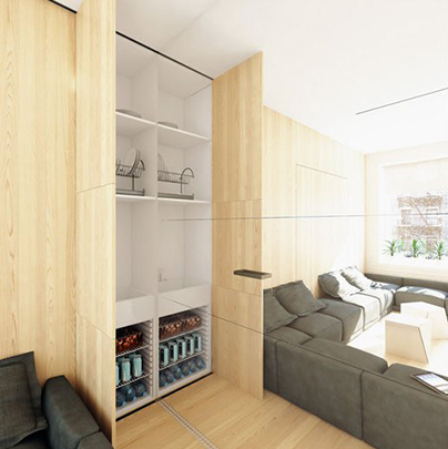 Дизайн интерьера от GORLOV&ARCHITECTS