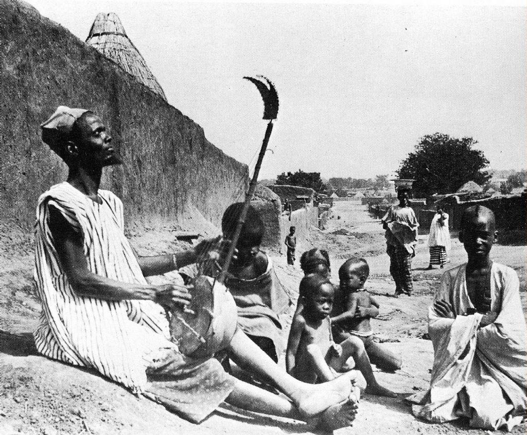 Гриоты — загадочное племя в Африке