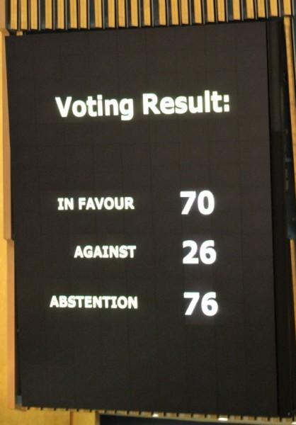 Голосование в ООН: все меньше стран считают Россию оккупантом