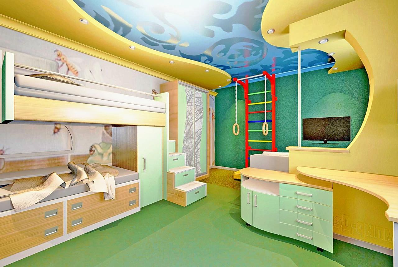 Детские комнаты картинки в квартирах