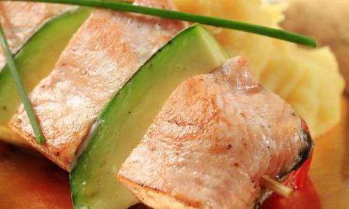 Рецепт дня: Шашлык из рыбы