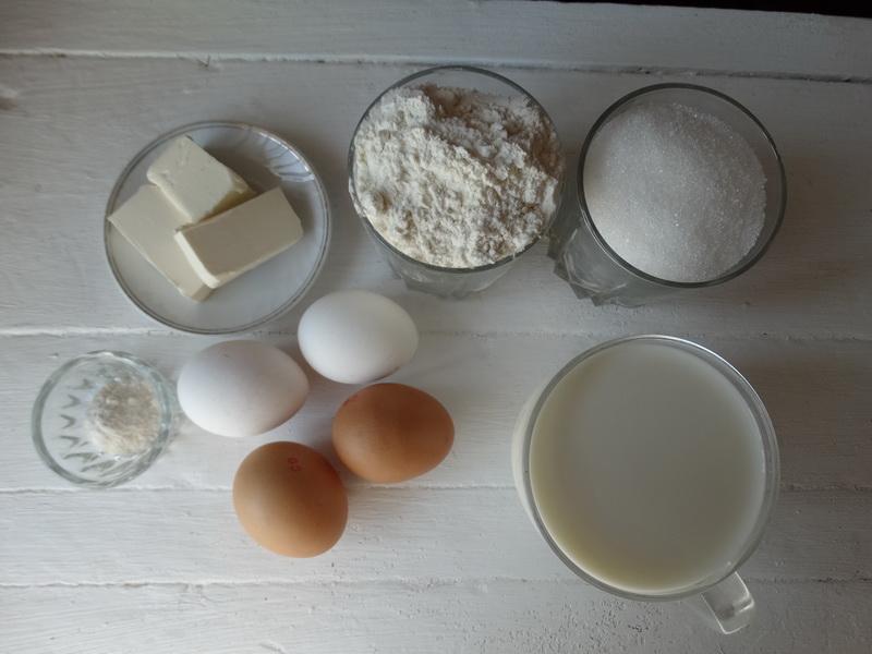 Рецепт «Заливного теста» — готовлю из него пироги: всегда быстро, а выпечка очень пышная