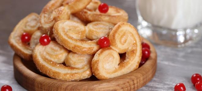 Печенье «Ушки» с сахаром