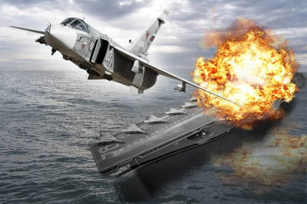 «Вынудят ответить зеркально»: флот США может нарваться на «тройственный залп» РФ у берегов Сирии