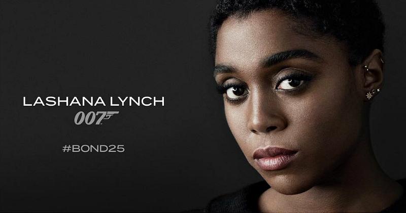 Новым агентом 007 станет темнокожая актриса Лашана Линч