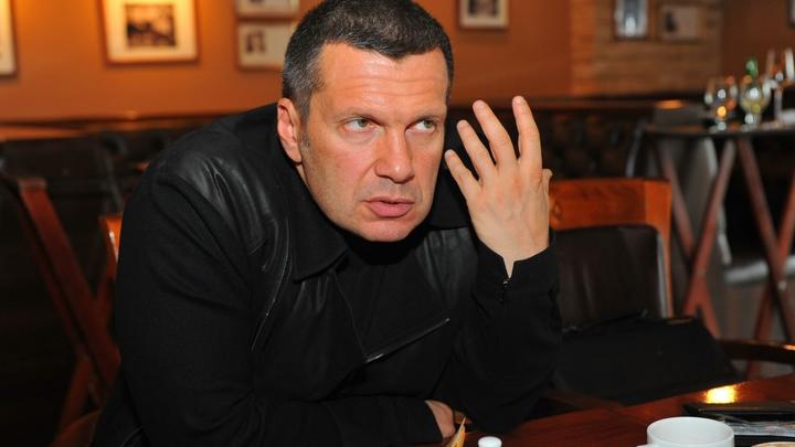 «Эти темы обсуждать будем?»: Соловьев поставил вопрос ребром о завершении дела Голунова