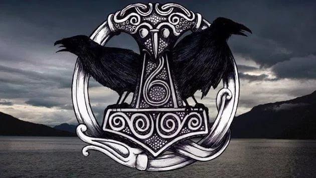 Иконографическая схема «Один и вороны»