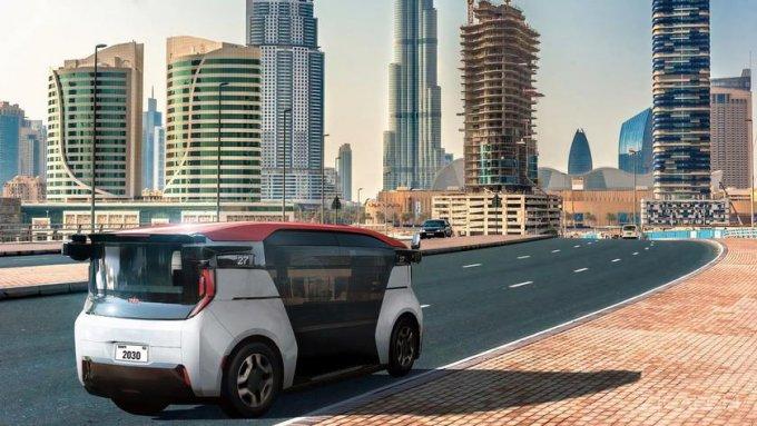 Беспилотное такси Cruise Origin выедет на улицы Дубая в 2023 году беспилотное авто,будущее,видео,навигатор,наука,техника,технологии,электроника