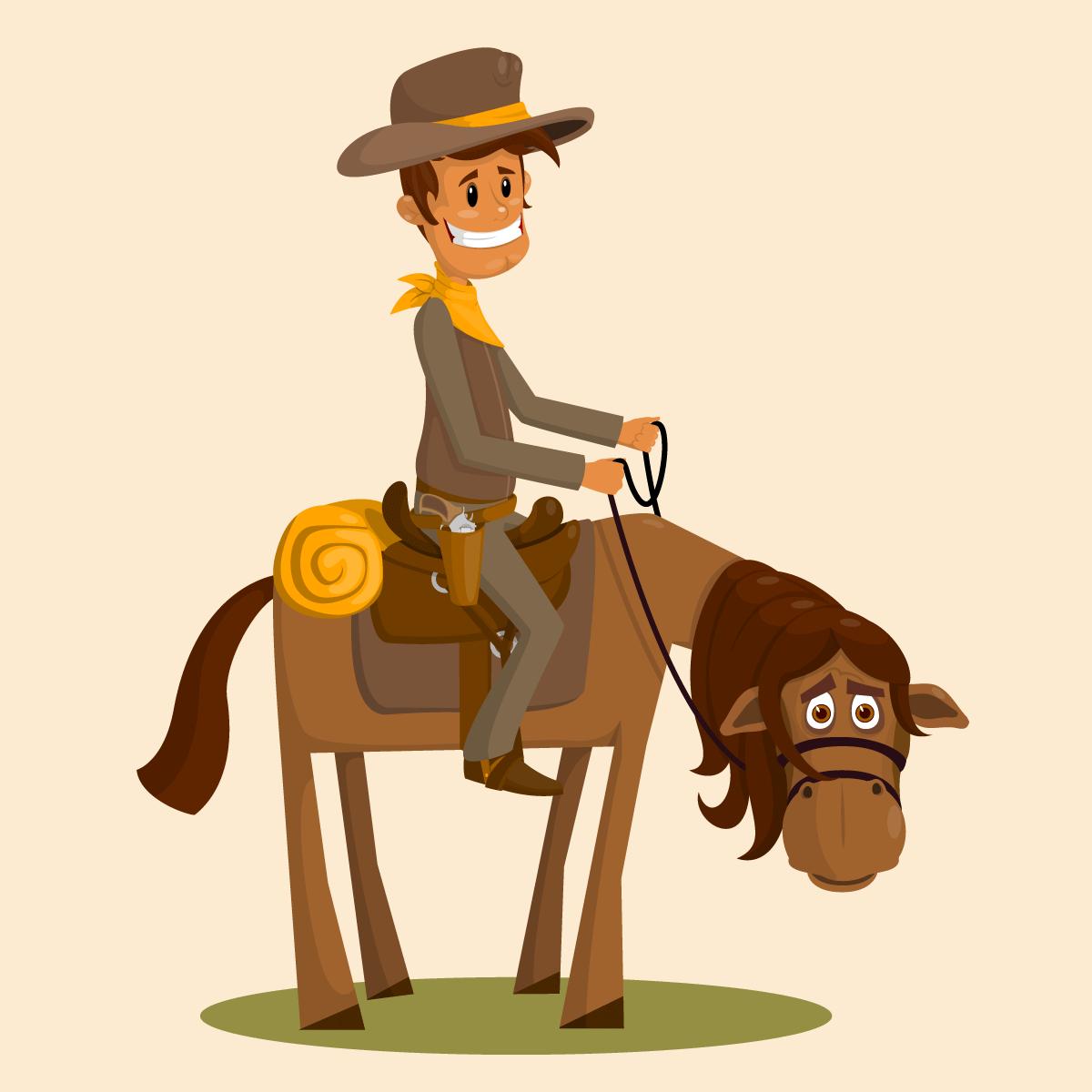 Ленивый ковбой