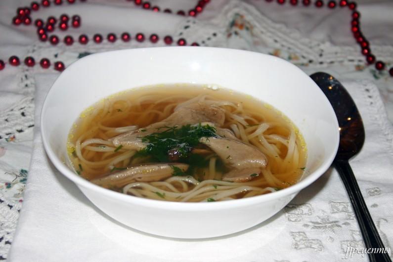 Грибная Юшка -Карпатский суп