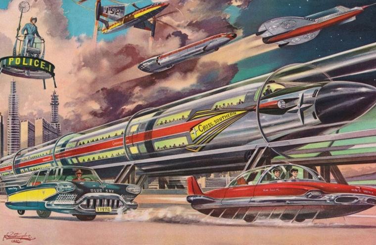Будущее глазами предков будущее,история,мечты,назад в будущее,предсказания,пророчества,футуризм,человечество