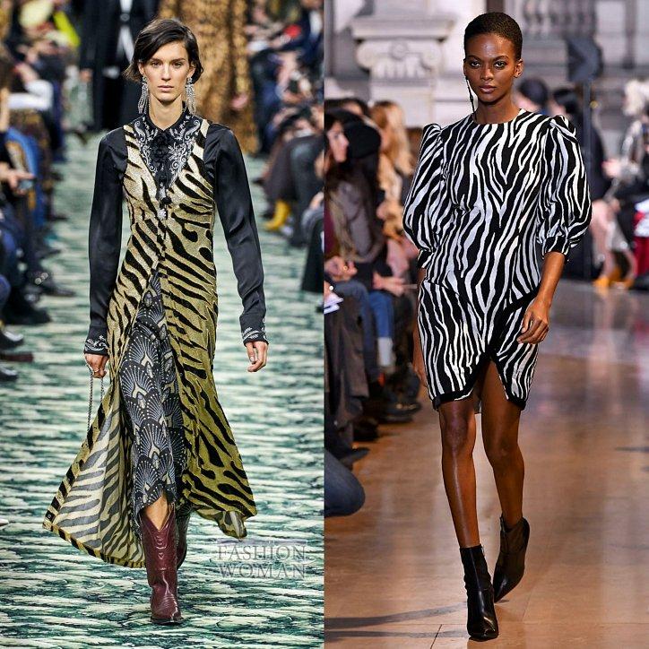 Модные принты осень-зима 2019-2020 фото №11