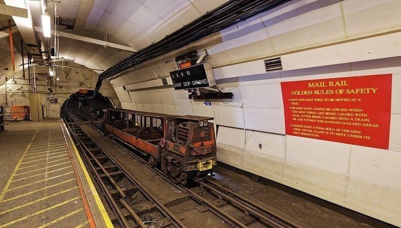 Почтовая железная дорога великобритания, достопримечательности под землей, интересно, история города, лондон, подземный Лондон, познавательно, путешествия
