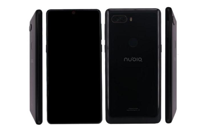 Мощный смартфон ZTE Nubia Z18 показался в бенчмарке