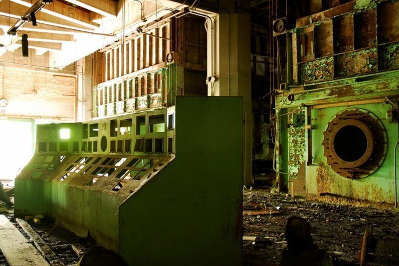 1. Бывшая электростанция, снабжавшая целые районы светом бомбоубежище, заброшки, индастриал, интересно, фото
