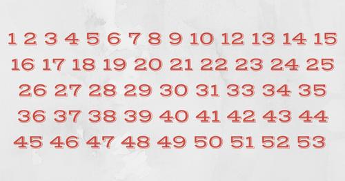 Как быстро вы сможете определить, какого числа не хватает? Не многие могут справиться быстрее, чем за 10 секунд