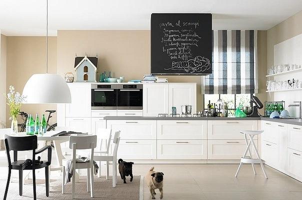 дизайн кухни столовой современные идеи