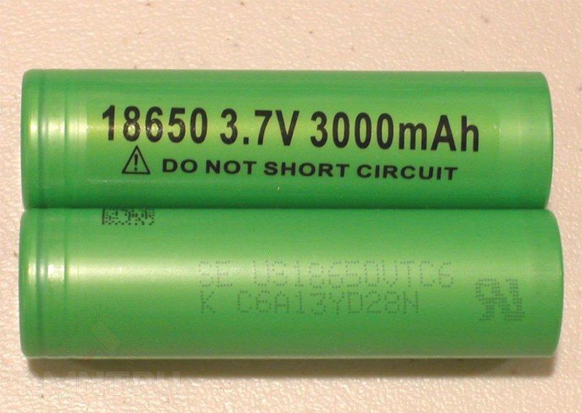 Элементы 18650