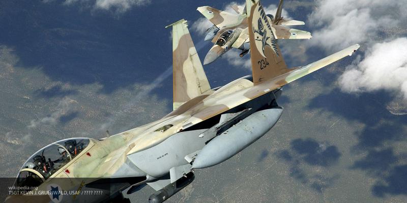 Видео ударов Израиля по объектам ХАМАС в секторе Газа появилось в Сети