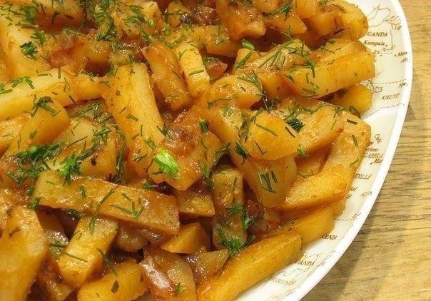 Вкусная картошка в мультивар…