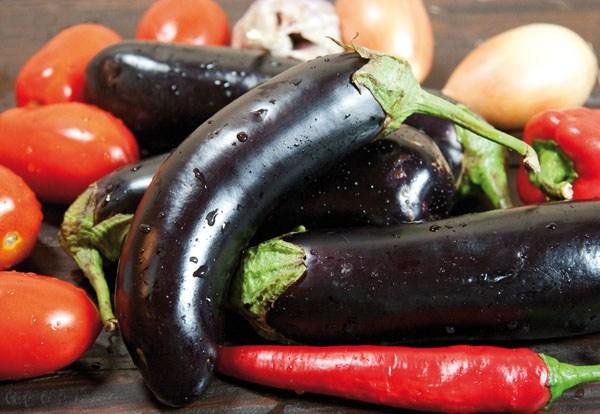 набор овощей для баклажанной икры