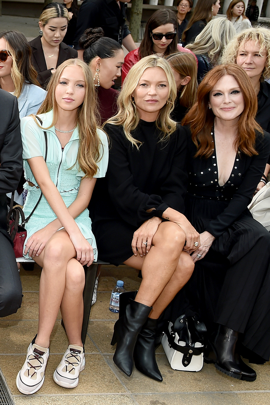 Звездные мамы, которые ходят на модные показы с дочерьми