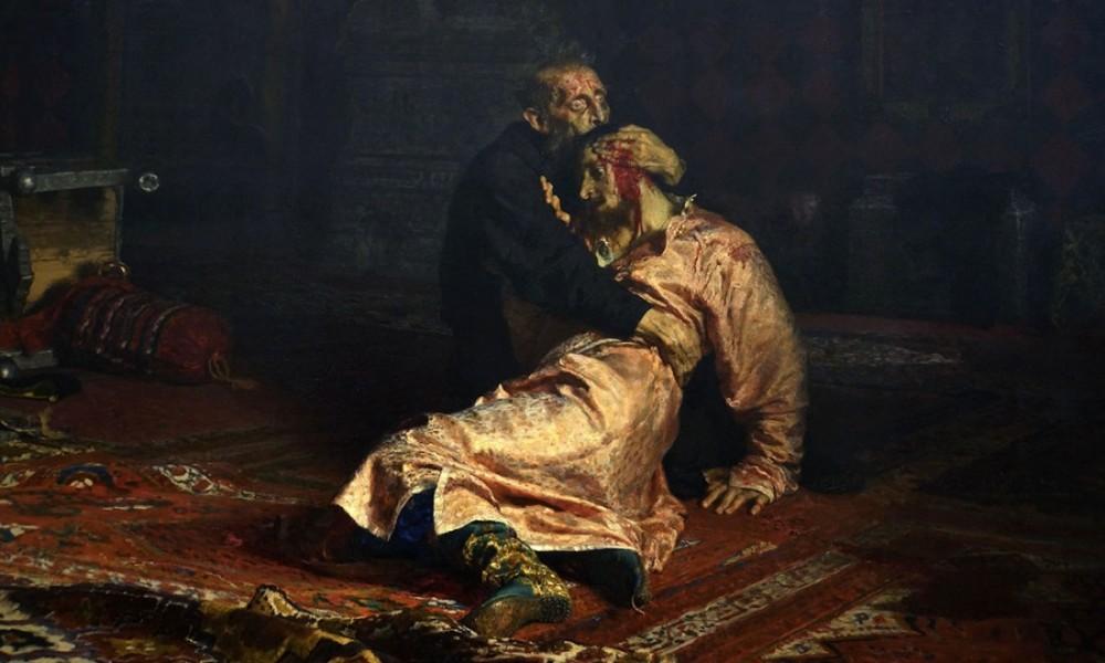 Почему у Репина отсохла правая рука? Правда о царе Иване Грозном