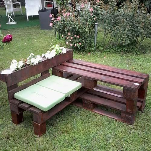 Дачная мебель своими руками из отходов